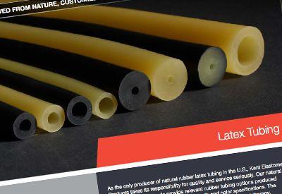 Natural Rubber Latex Tubing Brochure