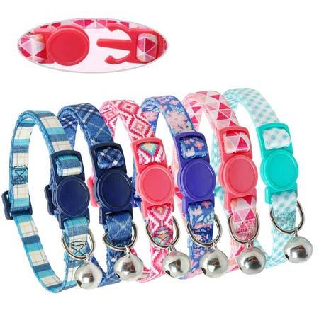 Didog Nylon Break Away Collars for Dogs