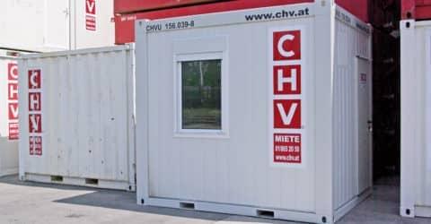 10ft Bürocontainer CHV156 NEU!