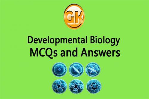MCQs Of Developmental Biology