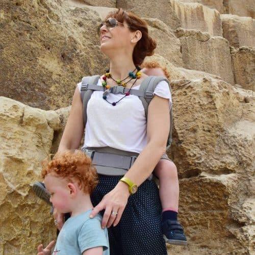 below the great pyramid