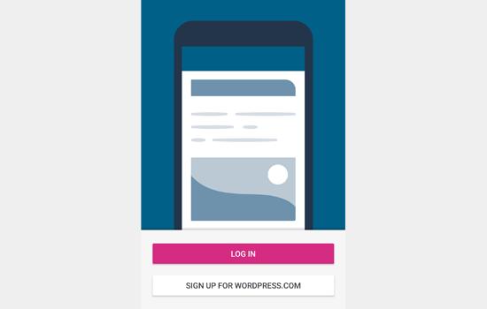wordpress app login - نحوه ی استفاده از برنامه وردپرس بر روی iPhone ،iPad و Android
