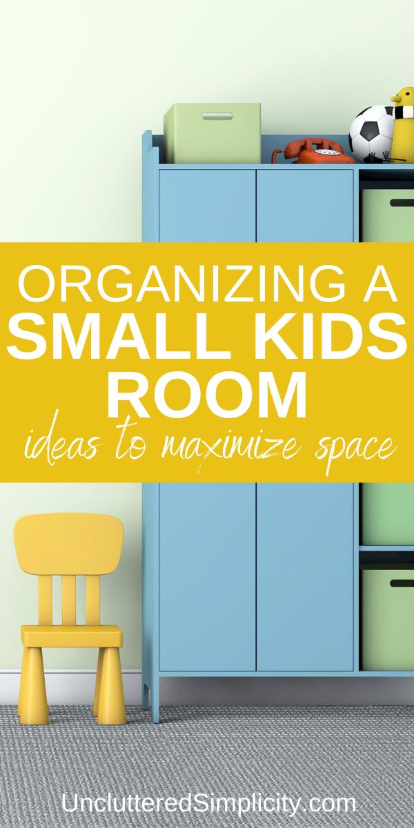 small kids room organization pin