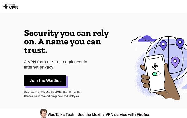 How to use VPN on Firefox - Mozilla VPN