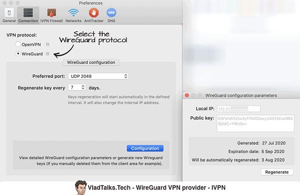 IVPN - WireGuard VPN provider