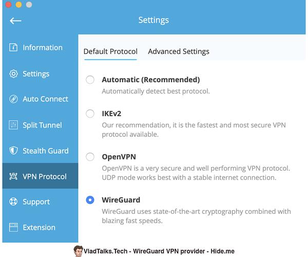 List of WireGuard VPN providers - Hide.me