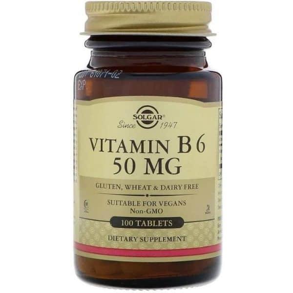 Solgar Vitamin B6 50mg