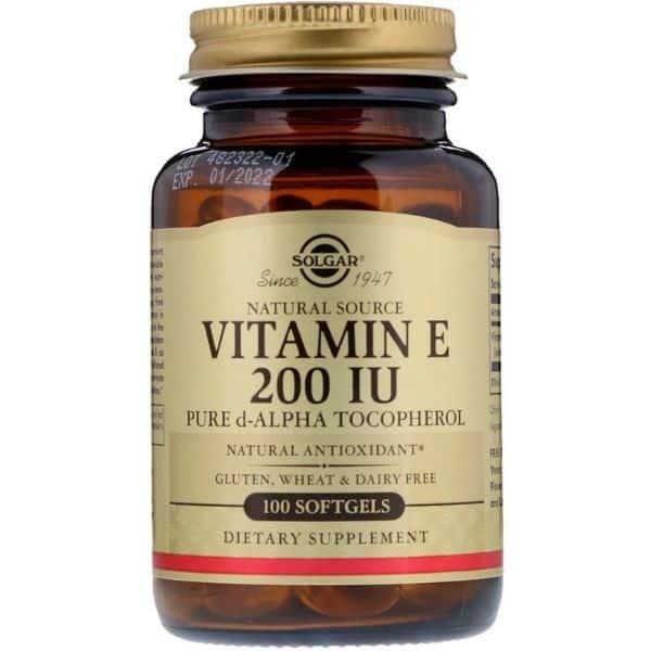 olgar, Naturally Sourced Vitamin E, 200 IU