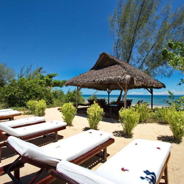 spiaggia hotel Naturalia Lodge madagascar