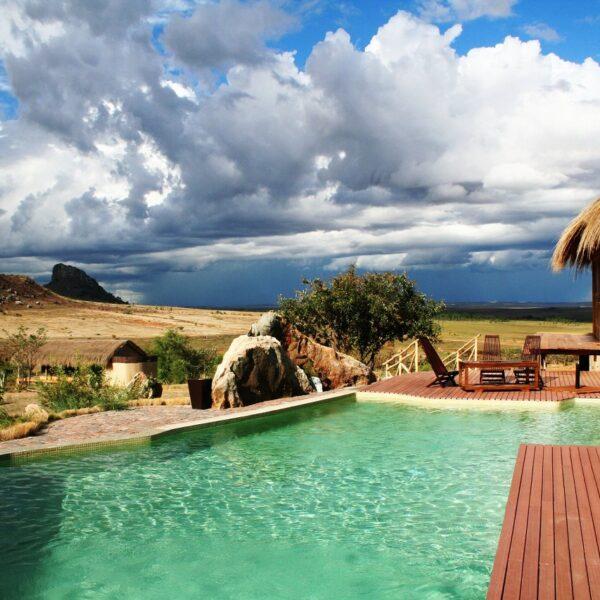 Il Satrana Lodge, hotel nei pressi del Parco dell'Isalo