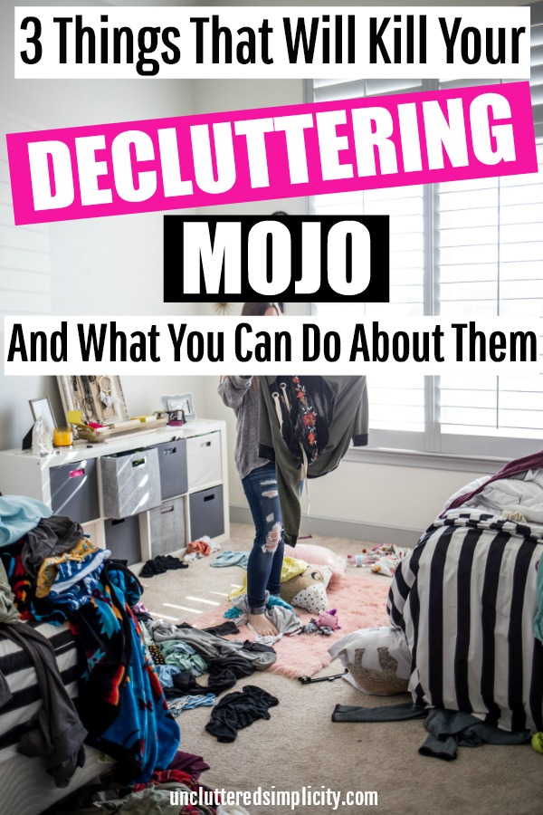 Decluttering Motivation: How to Stay Motivated to Declutter Your Home #declutter #declutteringtips #clutterfree