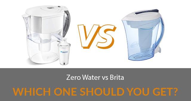 Zero Water vs Brita: Which One Should You Get?
