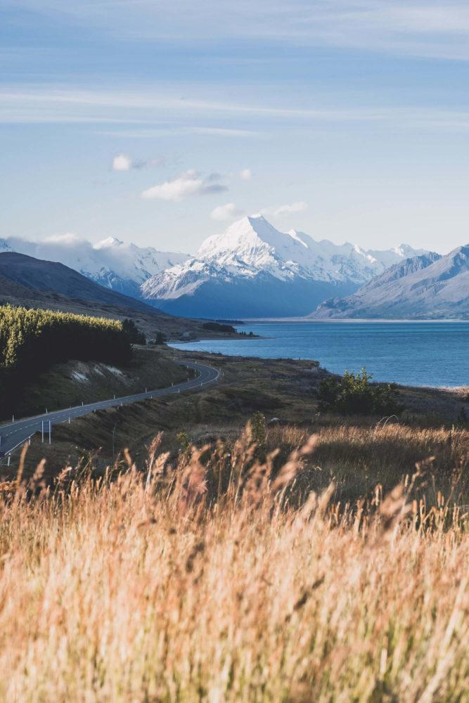 Lake Pukaki und Mount Cook