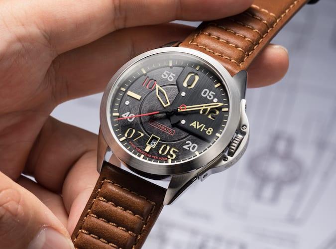 avi-8 hipster watch