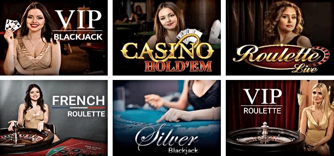 RoyalSpinz Casino juegos en vivo