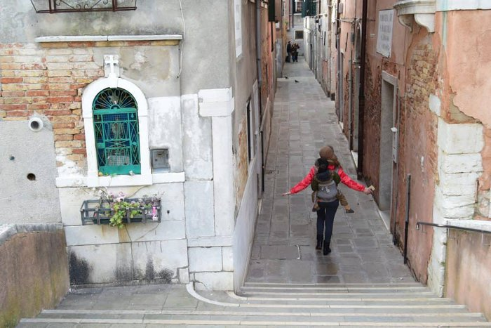 """most tourist stick to the main street leading form the station to San Marco, move just a couple of """"calle"""" away from it and you will not need to share the magic with anybody"""
