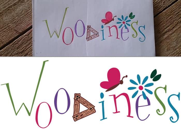 Voorbeeld van een logo dat gedigitaliseerd is door ViaVector.
