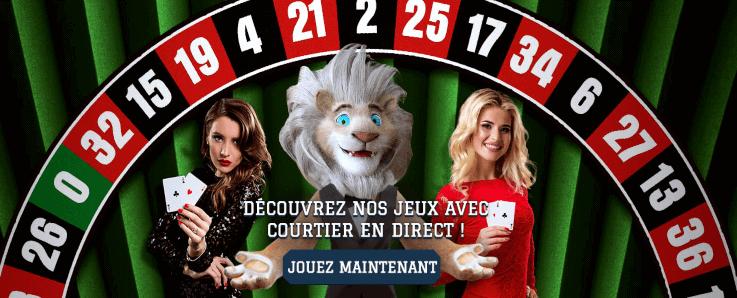 White lion casino games