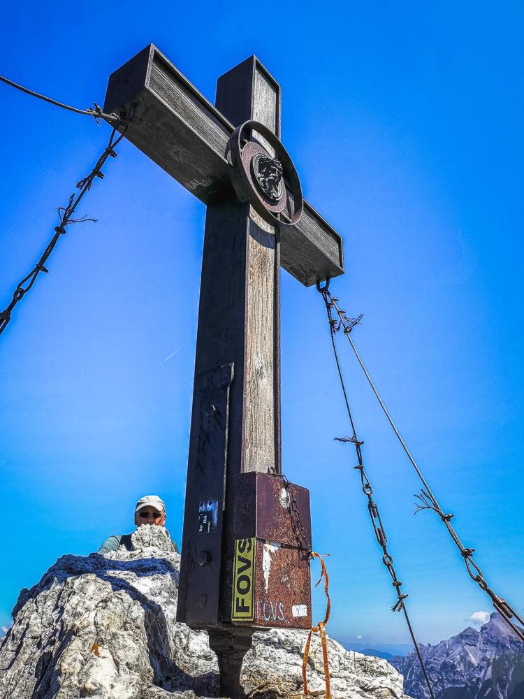 Gipfelkreuz der Elferspitze