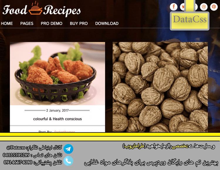 datacss 2.jpgق - 4 بهترین تم رایگان وردپرس برای صنف مواد غذایی