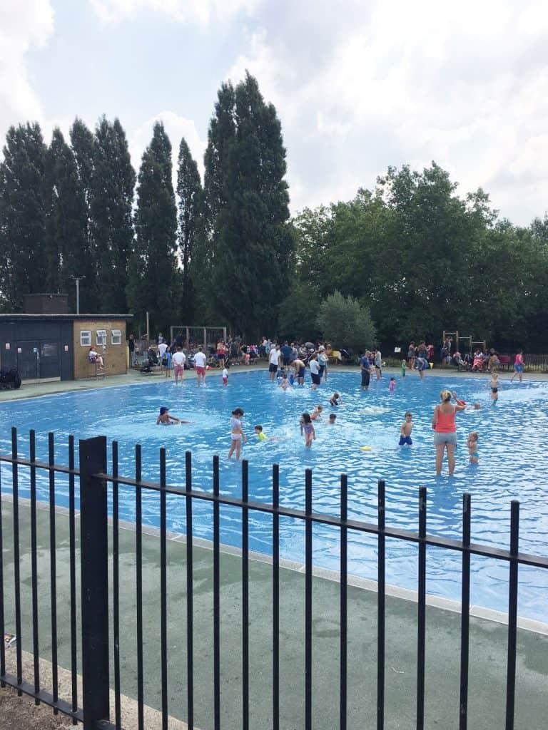 Hampstead Heath paddling pool