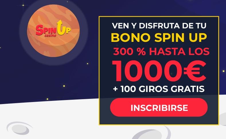 SpinUp casino bonus