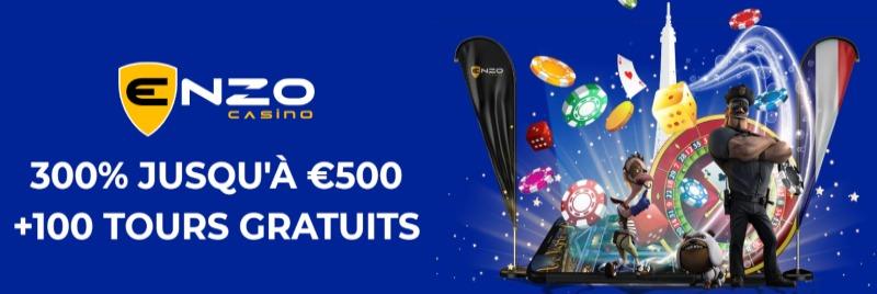 Enzo Casino Bonus de bienvenue