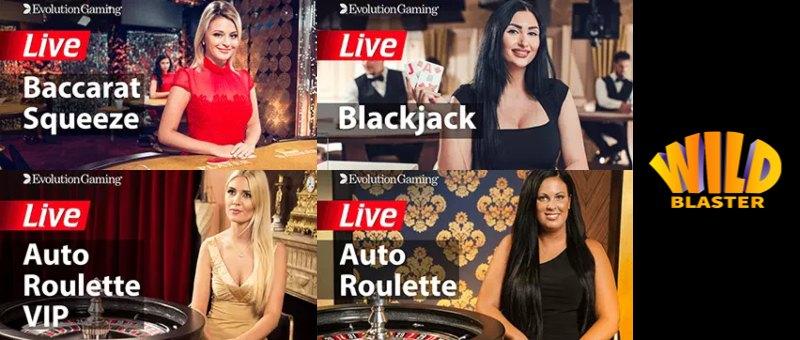 WildBlaster Live Casino