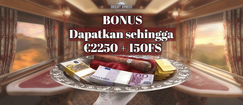 OrientXpress Bonus Selamat Datang
