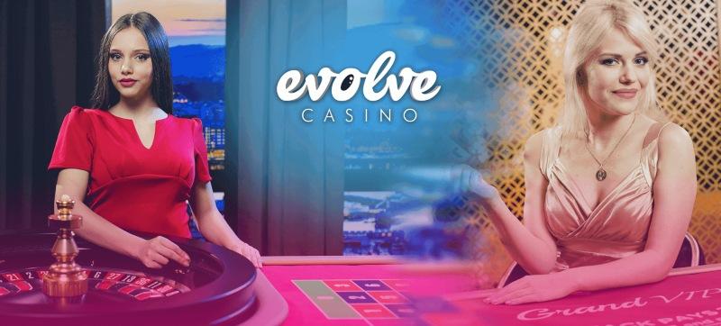 evolve casino live