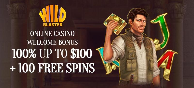 Wildblaster Casino Welcome Bonus