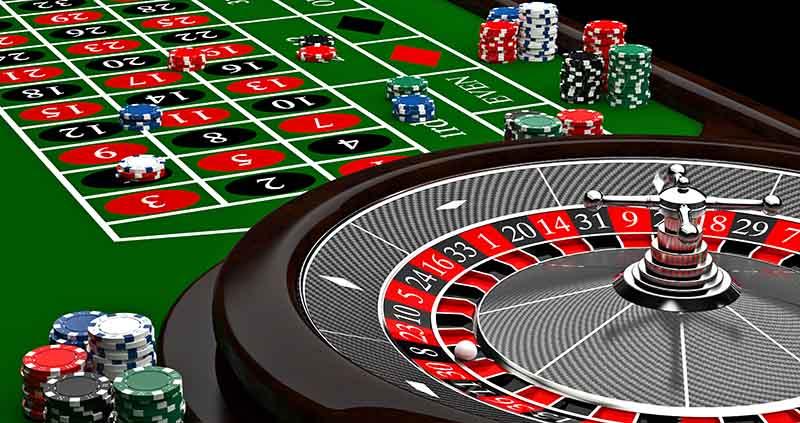 ruleta de juegos de casino