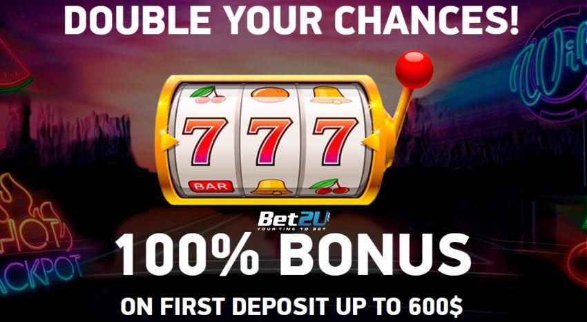 Bet2U Casino bonus