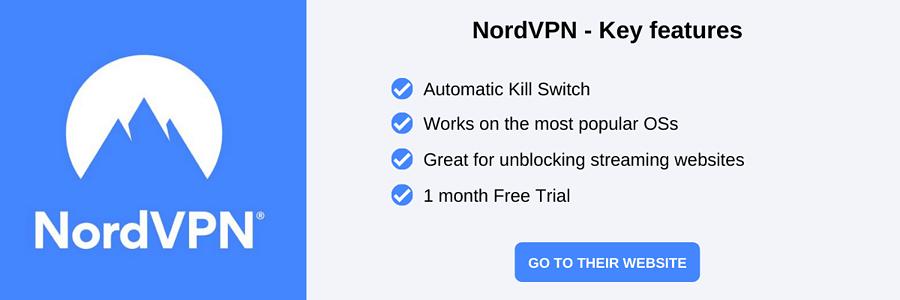NordVPN Black Friday VPN deals and a short list of key features