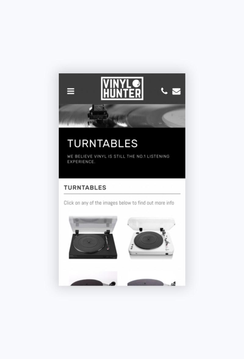 Vinyl Hunter Mobile Turntables