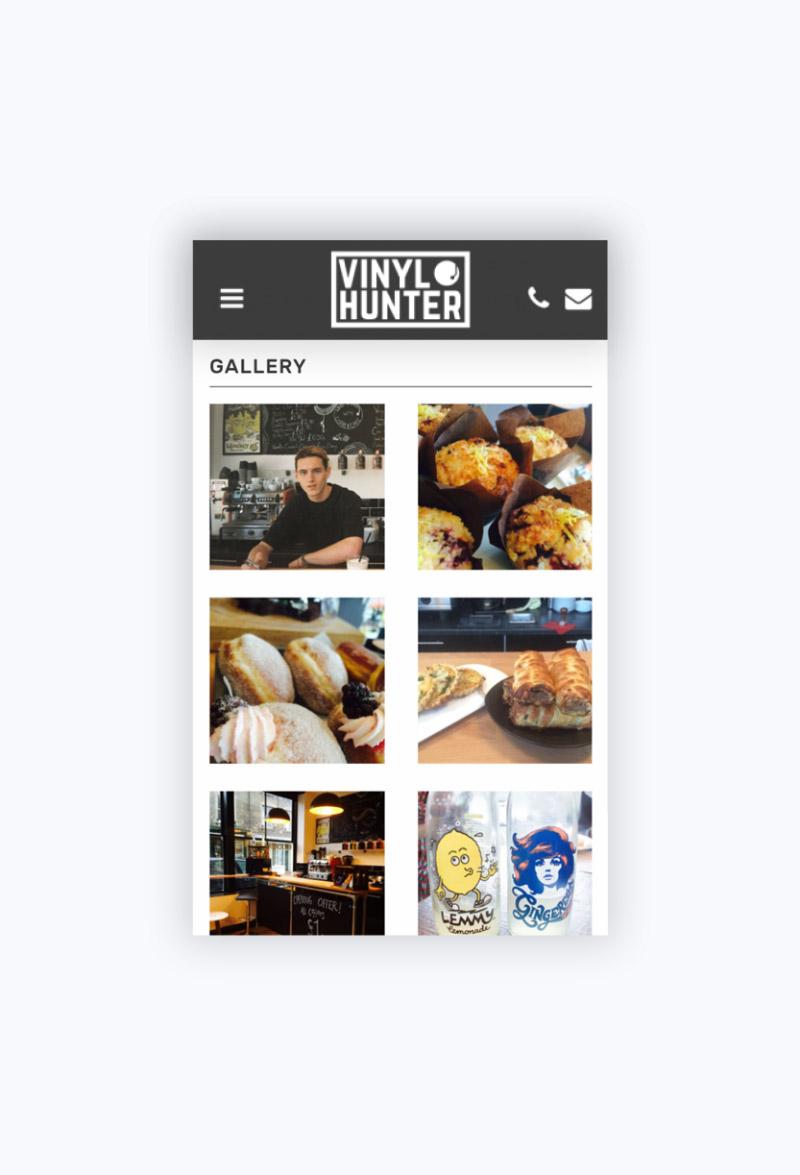 Vinyl Hunter Mobile Gallery