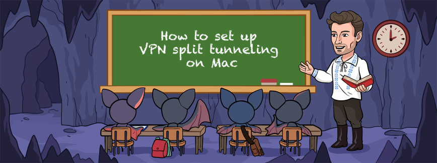 How to set up VPN split tunneling on Mac – 3 options explained