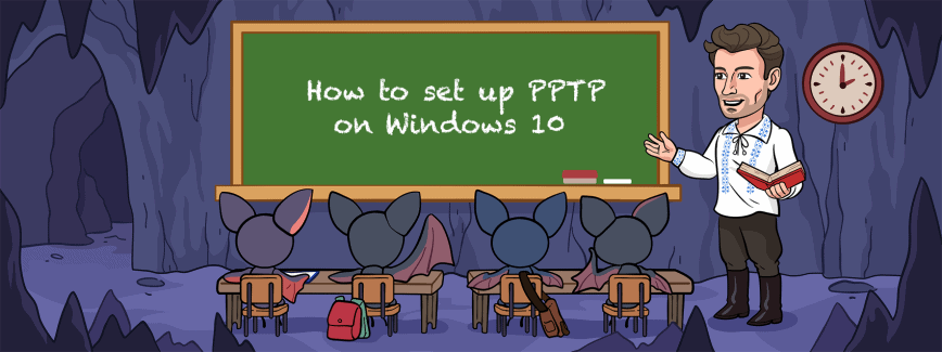 How to set up PPTP VPN on Windows 10. Manual setup, use a VPN app, or set it up on the router.