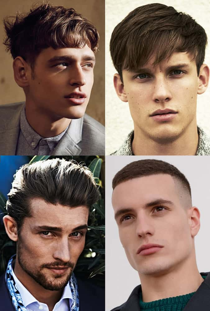 Hairstyles and haircuts for men with thick hair