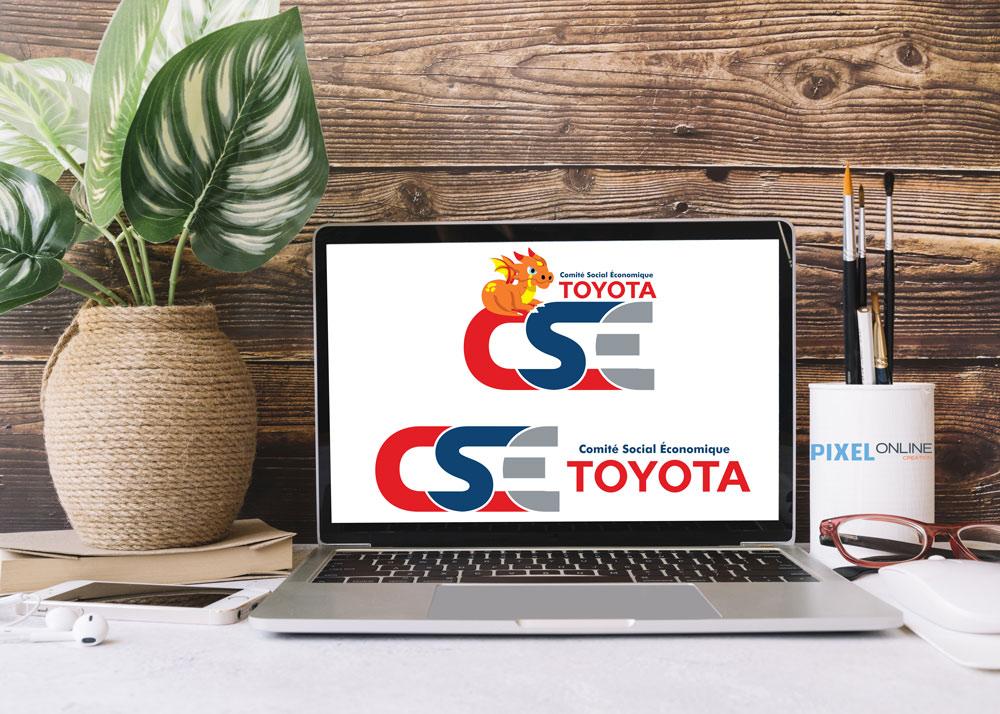 Création de logo CSE Toyota