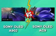 Comparativa TV OLED Sony A90J vs. AG9