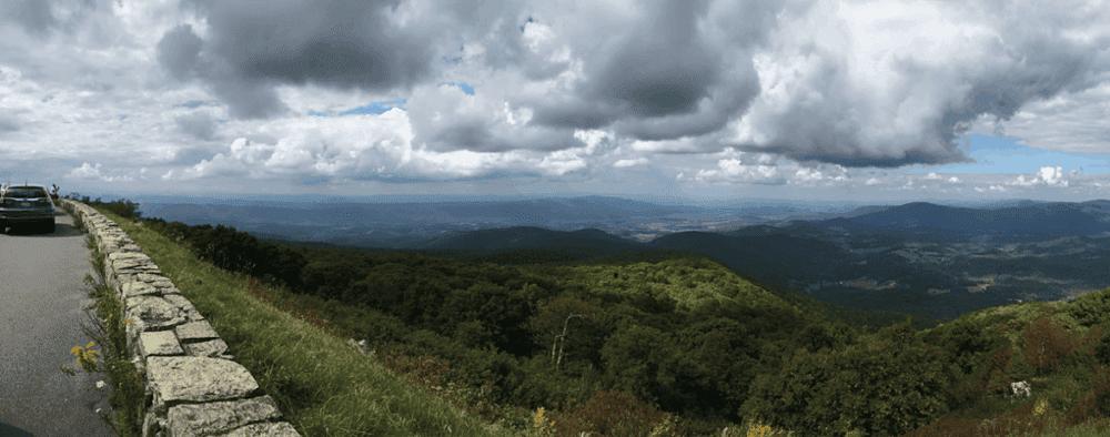 scenic overlook shenandoah national park