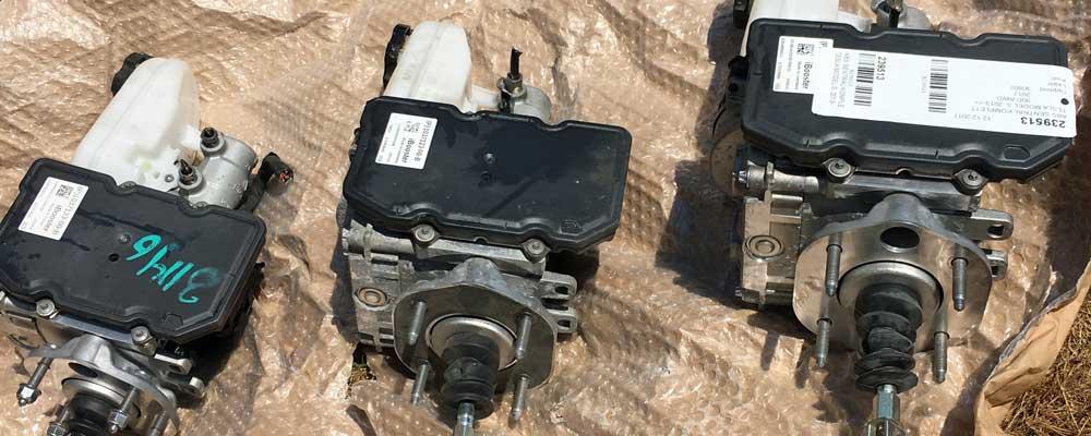 Three iBooster brake boosters