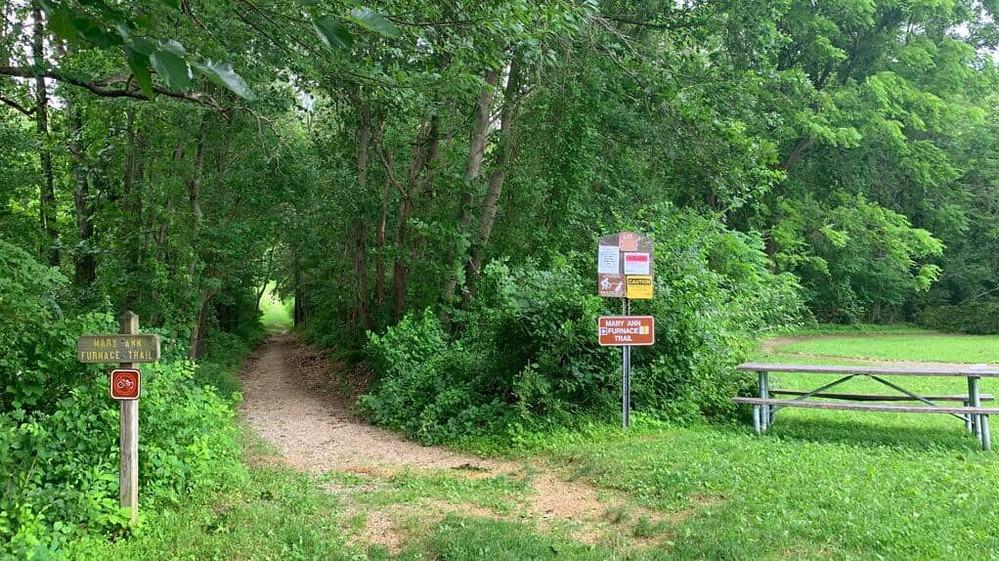 codorus state park mary ann furnace trail head