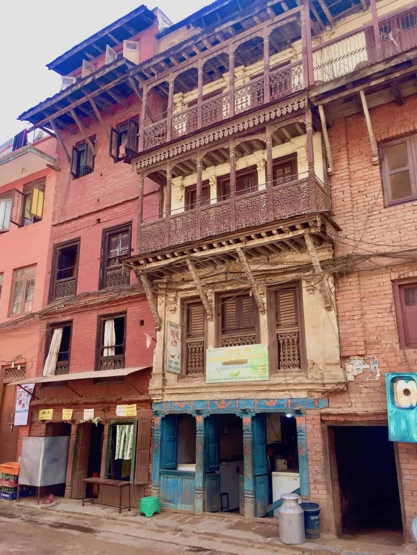 Fassade in Bhaktapur