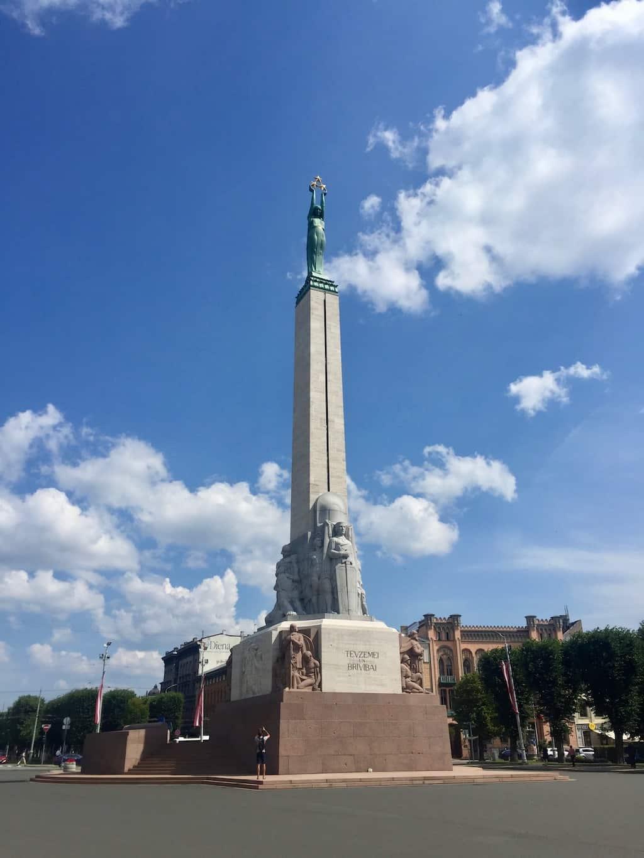 Riga Sehenswürdigkeiten: Das Freiheitsdenkmal