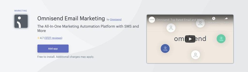 Omnisend Email Marketing