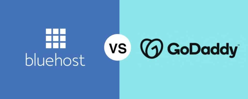 Bluehost vs GoDaddy comparison reviews
