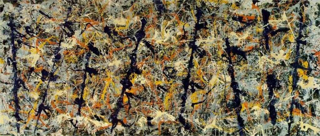 Jackson Pollock, Blue Poles or Number 11, 1952 artworks