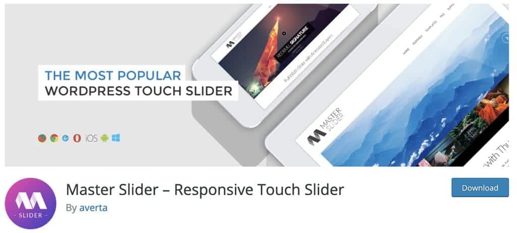 Master Slider – Responsive Touch Slider